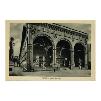 Italy, Firenze, Loggia dei Lanzi Posters