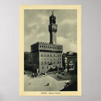 Italy, Firenze, Palazzo Vecchio Poster