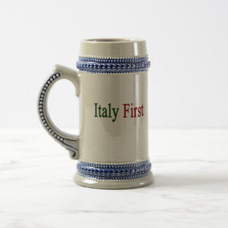 Italy First 18 Oz Beer Stein