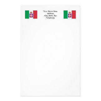 Italy Flag (1861-1946) Personalized Stationery