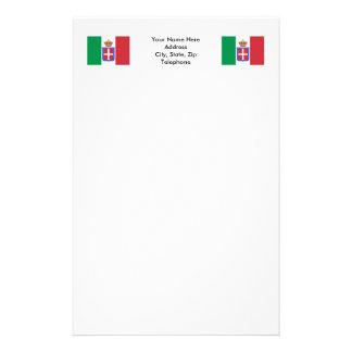 Italy Flag (1861-1946) Stationery