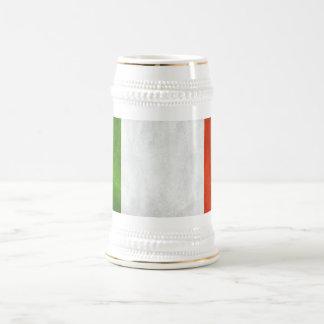 Italy Flag 18 Oz Beer Stein
