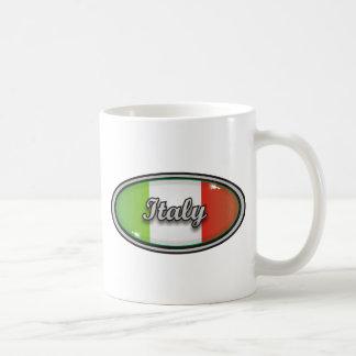 Italy flag 1 classic white coffee mug