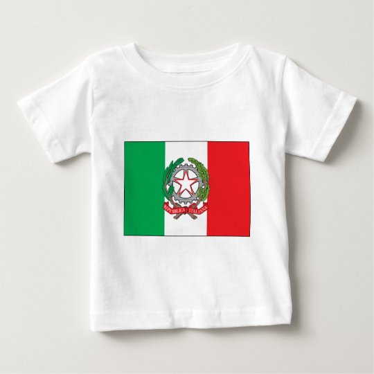 Italy Flag Baby T-Shirt
