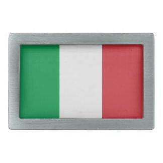 Italy Flag Belt Buckle