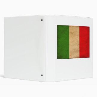 Italy Flag Binder