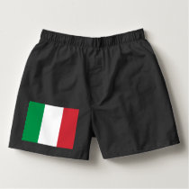 Italy flag boxers