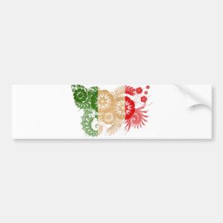 Italy Flag Car Bumper Sticker