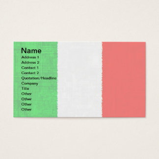 ITALY FLAG Business Cards
