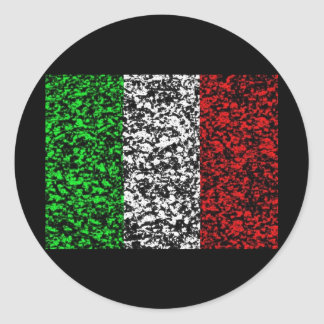 Italy - Flag Classic Round Sticker