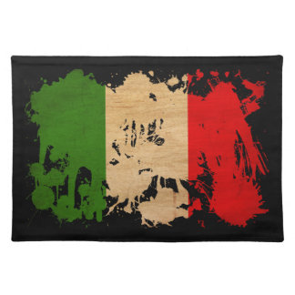 Italy Flag Cloth Placemat