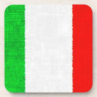 ITALY FLAG Coaster Set