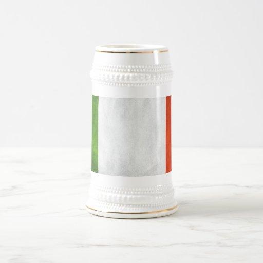 Italy Flag Coffee Mugs