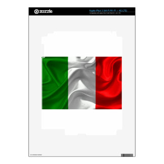 italy-Flag Decals For iPad 3