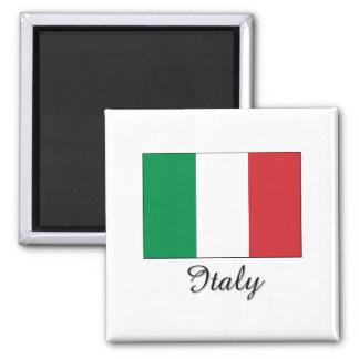 Italy Flag Design Magnet