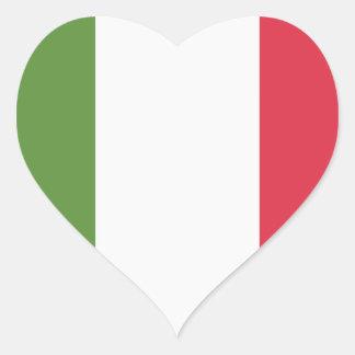 Italy Flag - emoji Twitter Heart Sticker