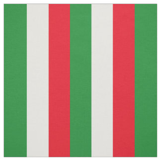 Italy Flag Fabric