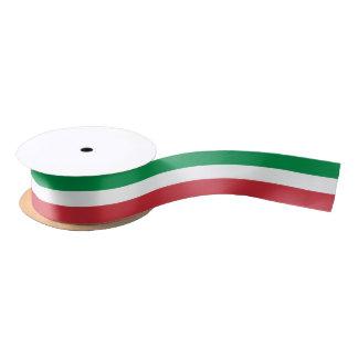 Italy flag gift ribbon for Italian theme party