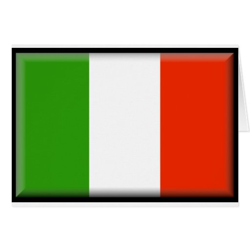 Italy Flag Greeting Cards