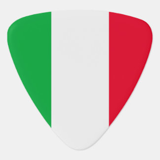 Italy Flag Guitar Pick