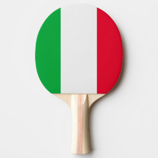 Italy Flag Ping-Pong Paddle