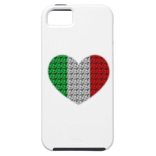 Italy Flag Heart iPhone SE/5/5s Case