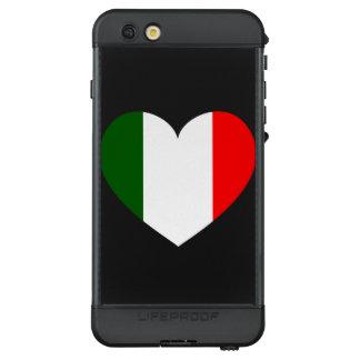 Italy Flag Heart LifeProof NÜÜD iPhone 6s Plus Case