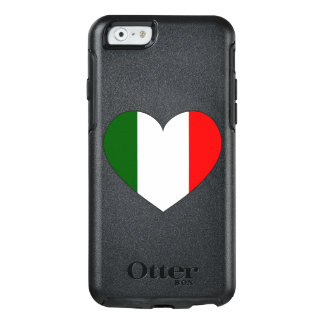 Italy Flag Heart OtterBox iPhone 6/6s Case