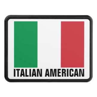 Italy flag hitch cover   Italian american pride