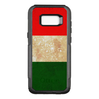 Italy Flag in Grunge OtterBox Commuter Samsung Galaxy S8  Case