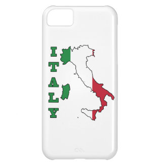 Italy Flag in Map iPhone 5C Cases
