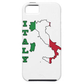 Italy Flag in Map iPhone SE/5/5s Case