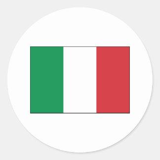 Italy FLAG International Classic Round Sticker