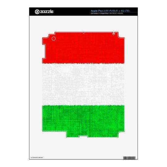 ITALY FLAG iPad Skin