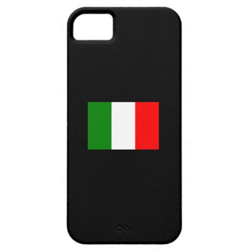 Italy Flag iPhone 5 Case