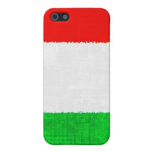 ITALY FLAG iPhone 5 CASES