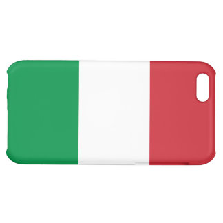 Italy Flag Cover For iPhone 5C