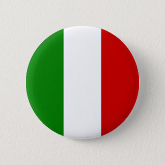 Italy Flag - Italian Button