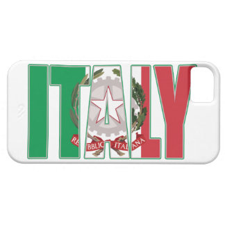 Italy Flag Italian Coat of Arms iPhone 5 Covers