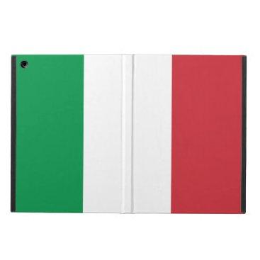 Italy Flag Italian Patriotic Case For iPad Air