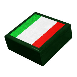 ITALY FLAG Keepsake Box