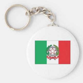 Italy Flag Keychain