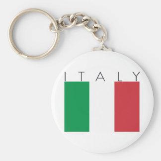 Italy Flag Key Chains