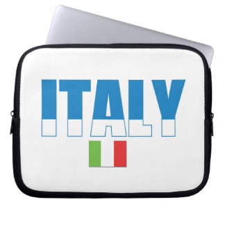 Italy Flag Laptop Sleeves