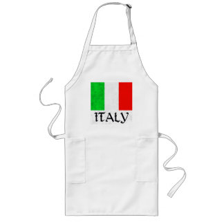 ITALY FLAG LONG APRON