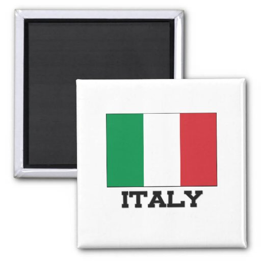 Italy Flag Refrigerator Magnet