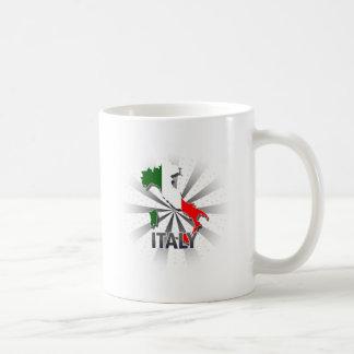 Italy Flag Map 2.0 Coffee Mug