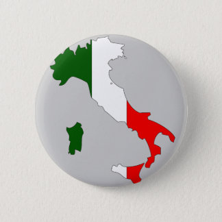 Italy flag map button