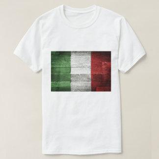Italy Flag Men T-Shirt Cotton Shirt