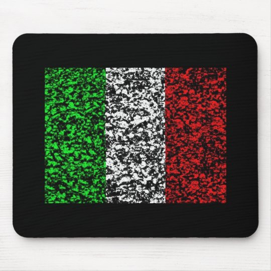 Italy - Flag Mouse Pad